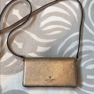 Kate spade wallet w/ detachable strap
